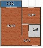 Продам 1-комнатную квартиру в Полоцке