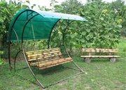 Садовые  разборные качели с доставкой по РБ